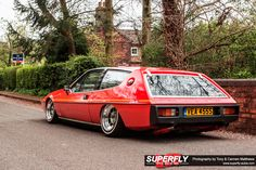 The Real Red Panther…80's inspired Lotus Elite | SuperFly Autos
