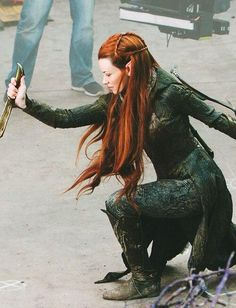 Pinning this just because of her hair. I actually really hate Tauriel      (*Great shot.  I think I am going to LOVE her!  -kmh*)