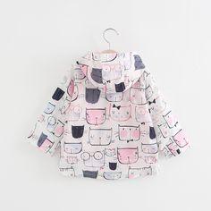 Keaiyouhuo куртка для девочек 2017 Демисезонный куртка для Плащ для девочек Детская верхняя одежда с капюшоном пальто Детская ветровкакупить в магазине Baby KidsнаAliExpress