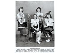 The Carters (Helen, Anita, mother Maybelle and June) in 1946