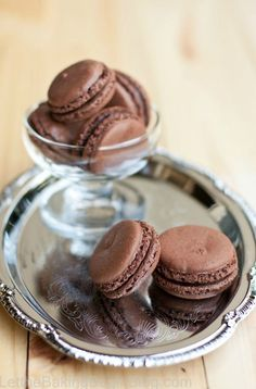 Creamy and decadent, this Dark Chocolate Truffle Macarons recipe is one to keep! This delicious sweet treat is fragile, fudgy, and full of chocolate—your family is going to love it.