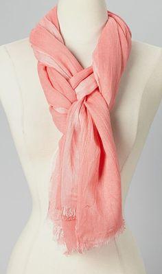Waikiki Light Pink Two-Tone Wrap