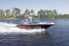 New 2012 Mastercraft Boats X2 Ski and Wakeboard Boat - In Action.