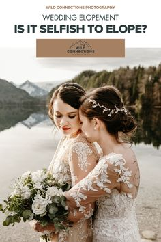 Is It Selfish To Elope? Elope Wedding, Wedding Events, Wedding Dresses, Honeymoon Fund, Elopement Inspiration, Intimate Weddings, Selfish, Alps, Bridal Shower