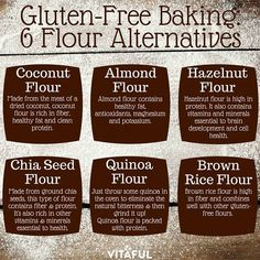 Everyone could benefit from going gluten-free, but that doesn't mean you have to give up dessert. Learn about 6 gluten-free baking flour alternatives!