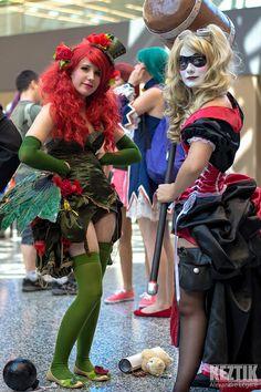 Harley Quinn amp Poison Ivy  DSC | http://www.amazingcosplaypics.com/image/2825/Harley_Quinn_amp_Poison_Ivy__DSC/
