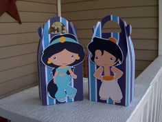 Princess Jasmine and Her Guy Gable Favor Boxes Set of by zbrown5, $14.40
