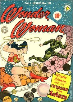 WONDER WOMAN 10, GOLDEN AGE COMICS
