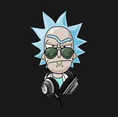 Rick and Morty x DJ Rick