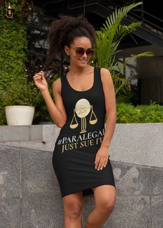 Looking for a cute tank dress? Why not drop by our shop to get your own paralegal tank dress now? Get through this with a nifty new sleeveless tank dress that you can't get anywhere else! Tank Dress, Shirt Dress, Fine Black Men, Paralegal, Lawyer, Nifty, Sporty, Drop, Stylish