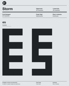 Storm Typeface By Fontwerp