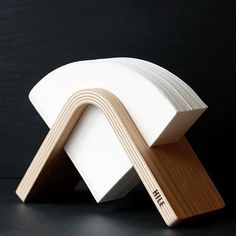 Oak veneered Sola coffee filter holder matches perfectly also with Hario filters. Available at HILE webshop www. Coffee Filter Holder, Coffee Filters, Kitchen Cupboards, Coffee Machine, Ali, Simple, Modern, Finland, Kitchen Cabinets