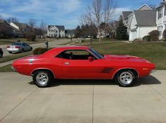 1973 Dodge Challenger i want this ..