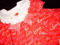 American Girl Bitty Baby Red Love Love Valentines by Jusadreamin
