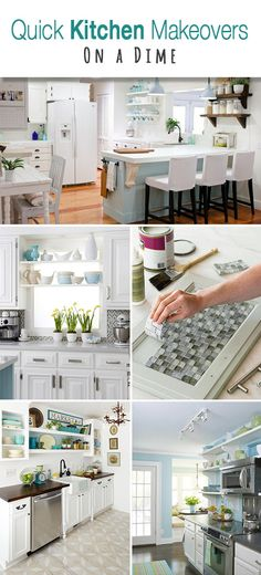 Quick Kitchen Makeovers On A Dime