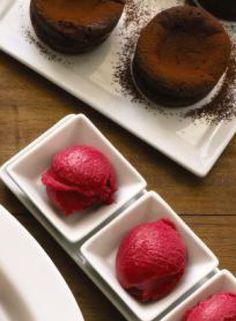 Get the recipe: Oregon Pinot Noir Raspberry sorbet from MCC Chef Tom Douglas #culinarycouncil #macys #recipe