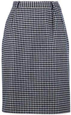 Valentino houndstooth skirt on shopstyle.com