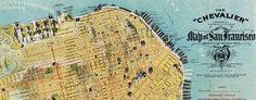 1912 Chevalier map of San Francisco (free hi-res download)