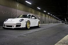 "Porsche 997.2 GT3 RS with 20"" Agiosport TWM ULTRA CCV Wheels."
