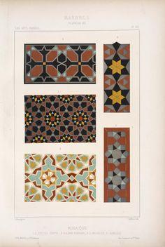 Mosaique 1. 2. église copte - 3. sultan Hassan - 4. 5. mosquée el Kamlyeh.