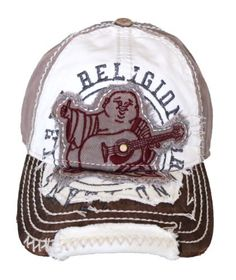 b86f64794c8 New True Religion Unisex Buddha Distressed Seal Trucket Hat Cap TR1101      Visit the · Distressed Baseball CapMens ...