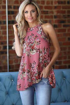 US Womens Boho Tank Top Vest Sleeveless Loose Summer Beach Casual T-Shirt Blouse Curvy Fashion, Urban Fashion, Floral Fashion, 50 Fashion, Fashion Styles, Chic Summer Style, Raglan, Summer Tops, Spring Summer