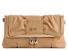 Jessica Simpson Chrissy Clutch... Thinking about getting it in yellow