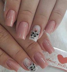 french tip nails Elegant Nails, Classy Nails, Stylish Nails, Trendy Nails, Toe Nails, Pink Nails, Fall Nail Art Designs, Nails Only, Pretty Nail Art