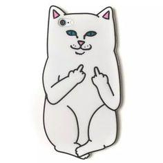 #gadget 2015 Newest cartoon animals you rock cut white corna cat soft silicon .. amzn.to/2awqdox