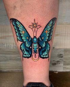 Forarm Tattoos, Bff Tattoos, Badass Tattoos, Cute Tattoos, Beautiful Tattoos, Body Art Tattoos, Tatoos, Butterfly Thigh Tattoo, Butterfly With Flowers Tattoo