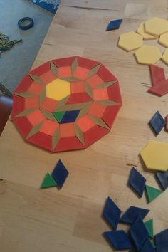 Pattern blocks to make your own quilt patterns