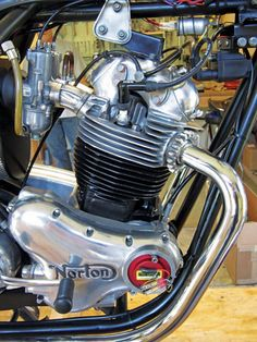 "How to give your classic Norton Commando an electronic ignition upgrade, step by step. From the article: ""The best part was finally firing up our Commando. It's now one of the easiest starting, nicest running Commandos we've ever had the pleasure of riding. Although a properly tuned Commando should start easily enough, our bike now starts first kick every time — and runs like the proverbial scalded cat."" Article by the Motorcycle Classics staff with help from Colorado Norton Works."