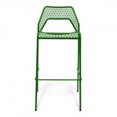 Hot Mesh Barstool - Comes in red, Green, Yellow, Blue, White, Black