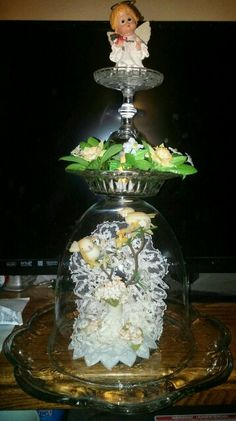 Glass totem ( Carol ).   10/2014