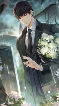 Dark Anime Guys, Cool Anime Guys, Hot Anime Boy, Sad Anime, Cute Anime Pics, Anime Life, Kawaii Anime Girl, Anime Love Story, Manga Love
