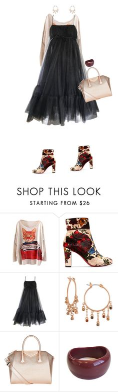 """Highway star"" by merryl-key ❤ liked on Polyvore featuring WithChic, Christian Louboutin, Suzy Perette, Rachel Rachel Roy, Givenchy and Marni"