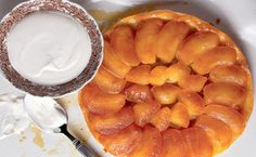 Tarte Tatin:  A classic French upside-down apple tart that is prepared from start to finish in just one pan...