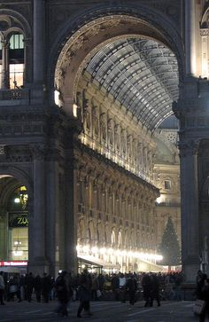 Galleria, Milan by identity chris is, via Flickr