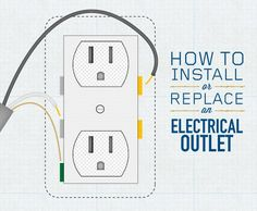how to replace an electrical outlet for dummies DIY Household