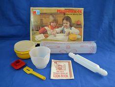 Vintage Tupperware Baking Play Set