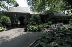 New Leaf Cafe- Restaurant buried in Fort Tryon Park, New York.