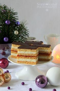 Sünis kanál: Mézes-grízes szelet Hungarian Recipes, Sweet And Salty, Cake Cookies, No Bake Cake, Vanilla Cake, Tiramisu, Gingerbread, Deserts, Food And Drink