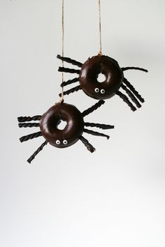 Spider Donuts // 13 Nights of Donuts // Legal Miss Sunshine