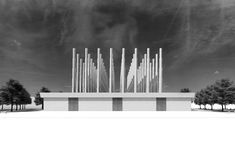 Www.HollandStreet.co Adjaye Associates reveals Martyrs Memorial in Niamey #sustainablefashion #ethicalfashion #sustainablestyle Event Organization, How To Level Ground, Wind Turbine, Facade, City, Cities, Facades, Arbors