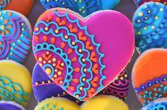 Galletas de azúcar de encaje personalizado por Sweet17Cookies