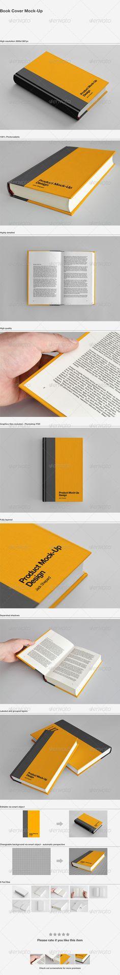 Book Cover Mock-Up Download here: https://graphicriver.net/item/book-cover-mockup/1687037?ref=KlitVogli