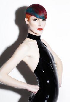 2014 ColorAmerica Colorist of the Year winning image by Daniel Rubin #haircolor #colorist #vivids
