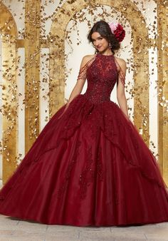 Mori Lee Quinceanera Dresses, Turquoise Quinceanera Dresses, Mexican Quinceanera Dresses, Red Ball Gowns, Tulle Ball Gown, Satin Tulle, Ball Gown Dresses, Pageant Dresses, Evening Dresses