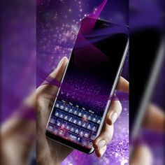 The #PurpleSky #Fireworks Keyboard Theme 2018 comes with a #cool font and really awesome #graphics . In the #background you get purple #galaxy #stars , gradually becoming #brighter , from the top of the screen to the bottom. It's a simple theme, but very calming and #discreet . It is the best choice for those who want a #custom keyboard!
