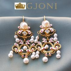 Croatian traditional earrings from Dubrovnik Traditional Earrings, Movie Magazine, Dubrovnik, Jewelry Patterns, Dorm Room, Magazines, Jewlery, Pearl Earrings, Italy